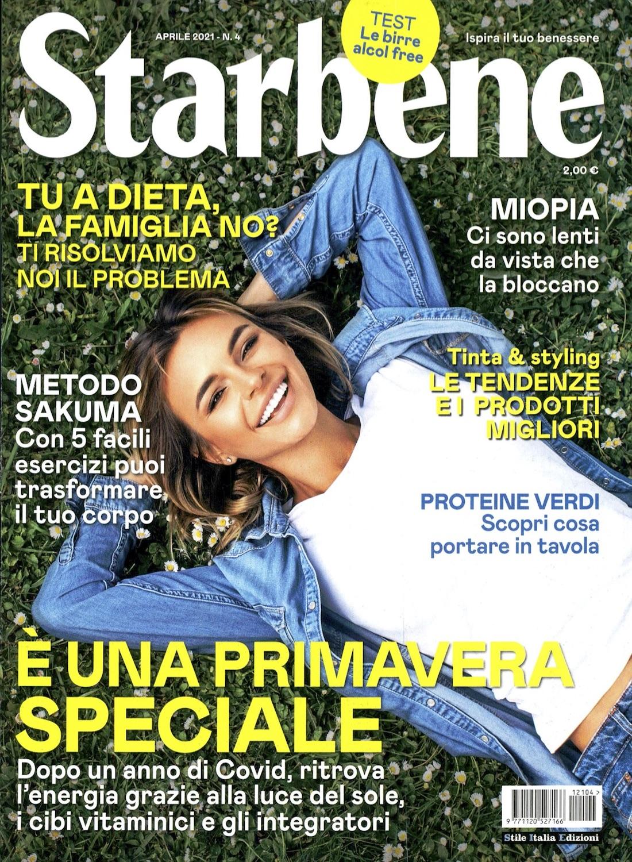 Starbene COVER - Aprile 2021