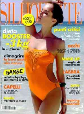 Silhouette Donna TOP - COVER - Agosto 2021