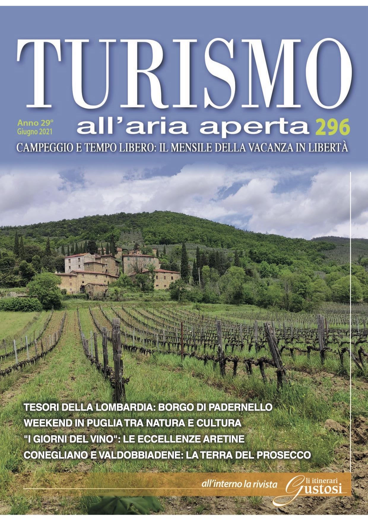 Turismo all'aria aperta - TOP - COVER - Giugno 2021
